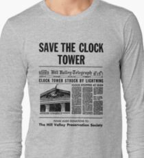 Save the Clocktower Long Sleeve T-Shirt