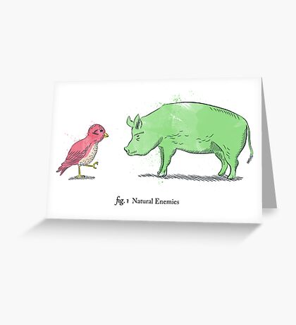 Natural Enemies Greeting Card