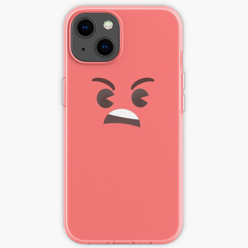Angry Little Face - Tomato iPhone Case