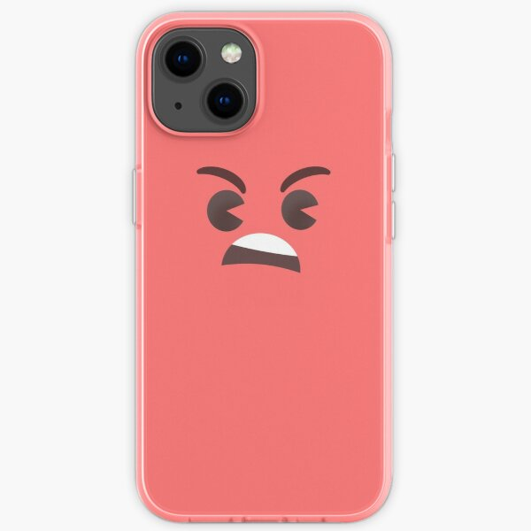 Angry Little Face - Tomato iPhone Soft Case