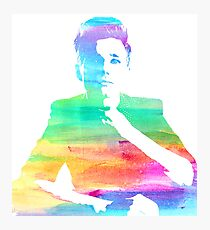 rainbow chris Photographic Print