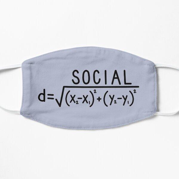 Social Distance (formula) Mask