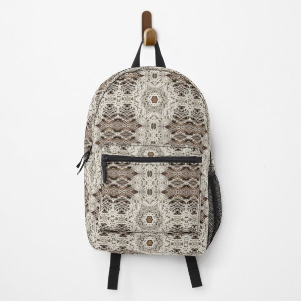 Shabby chic bohemian crochet lace  Backpack
