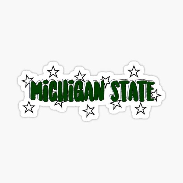 michigan state sticker Sticker
