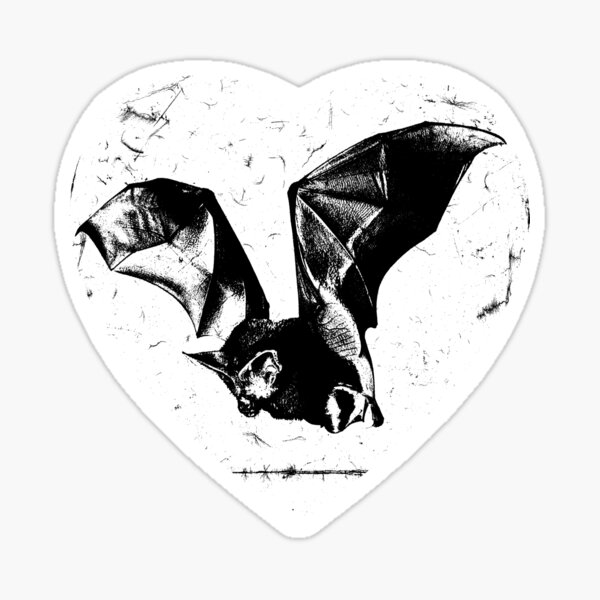 heart bat Sticker