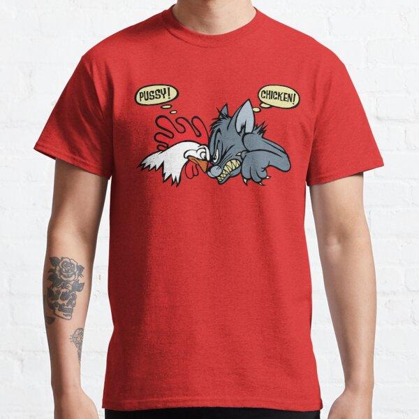 Pussy Chicken Hot Rod Shirt, Sticker, Decal, Mask Classic T-Shirt