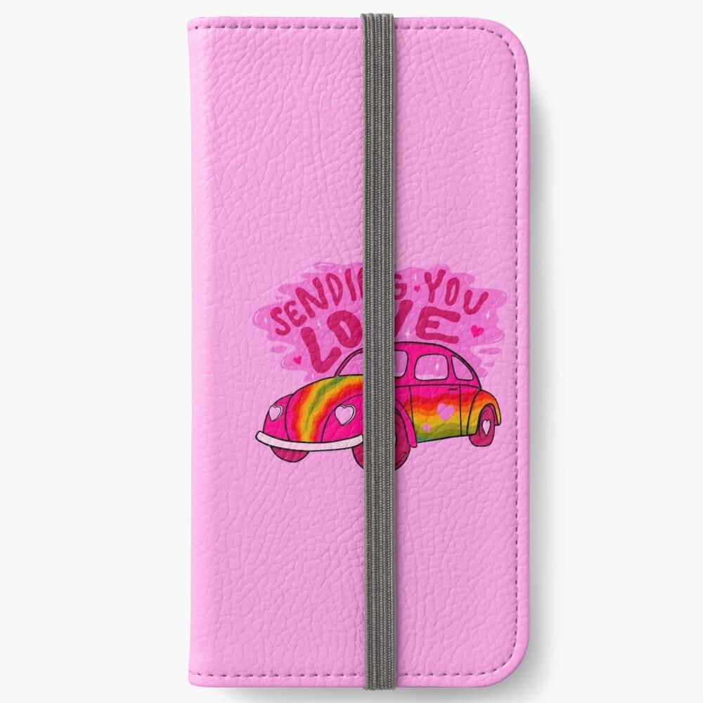 Sending You Love iPhone Wallet