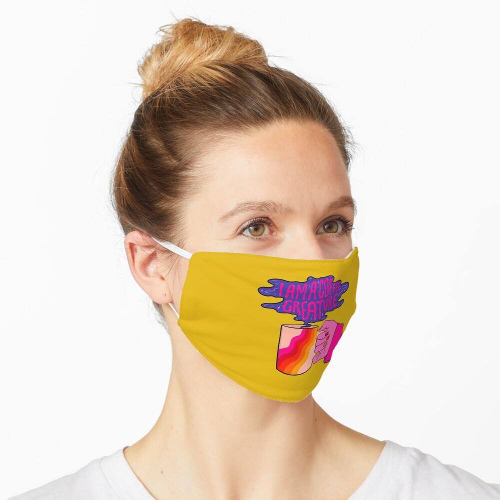 Coffee Creature Mask