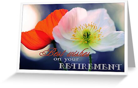 Best wishes on your retirement poppies greeting cards by micklyn2 best wishes on your retirement poppies by micklyn2 m4hsunfo