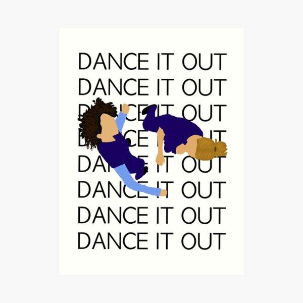 Baila con Meredith y Christina Lámina artística