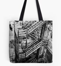 Stairs Down Tote Bag