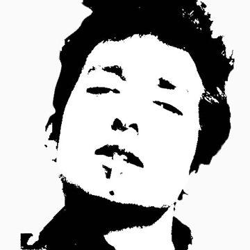 Bob Dylan  by christinenjones