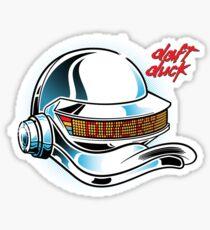 Daft Duck - Quackter Sticker