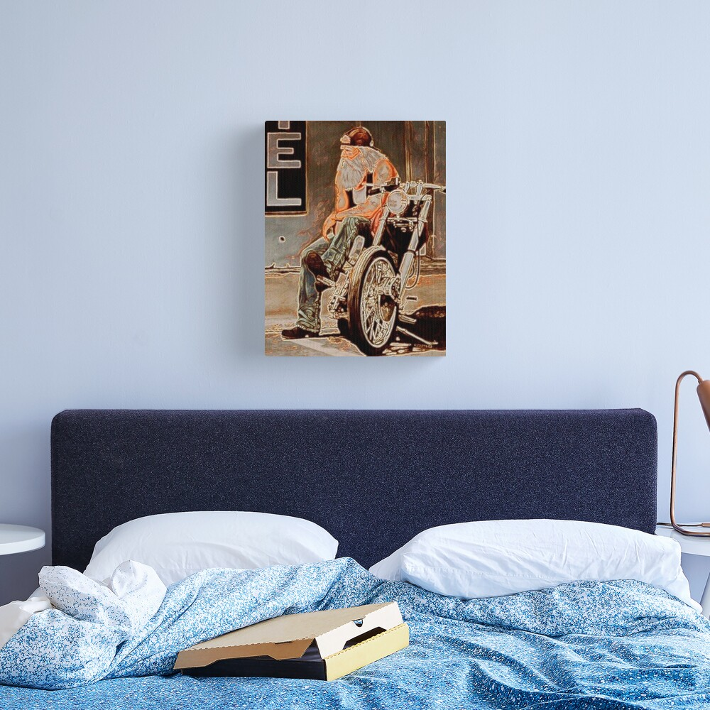 DOWNTIME Canvas Print