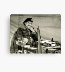The Field Marshal  Canvas Print