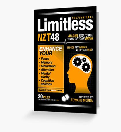 Limitless Pills - NZT 48 (Original Version) Greeting Card