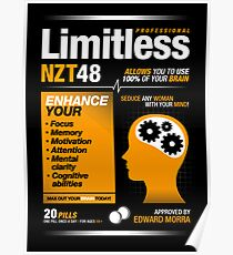 Limitless Pills - NZT 48 (Original Version) Poster