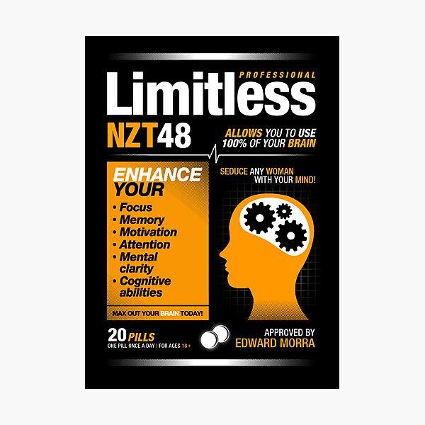 Limitless Pills - NZT 48 (Original Version) Photographic Print