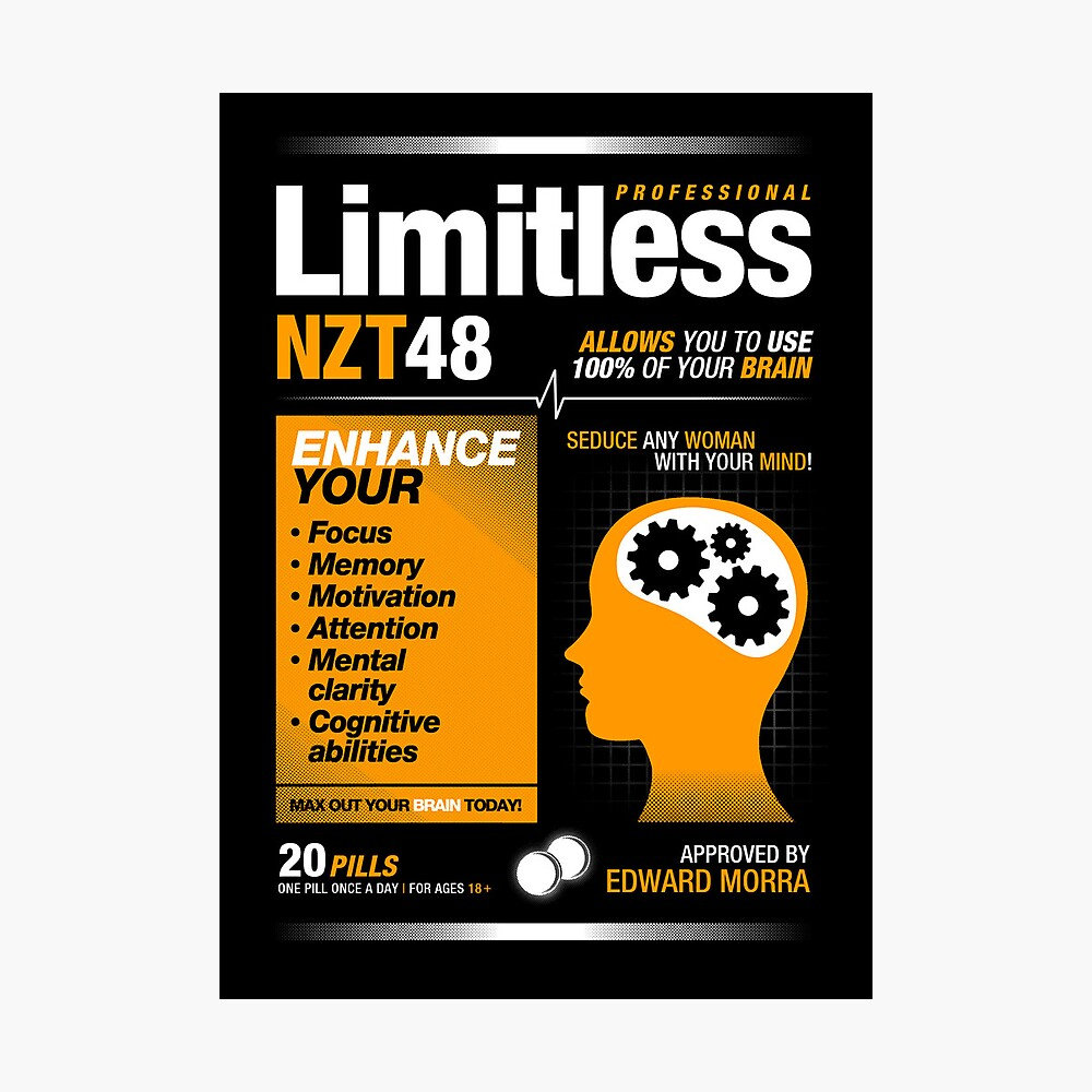 Limitless Pills - NZT 48 (Original Version) Fotodruck