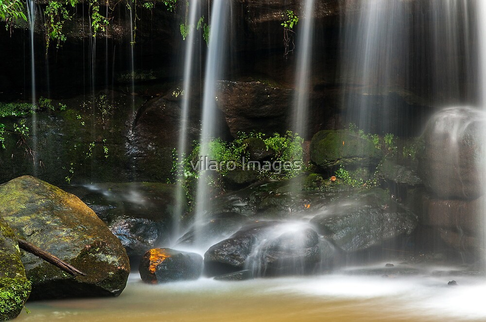 Sydney waterfalls - Hunts Creek #3 by vilaro Images