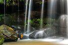 Sydney waterfalls - Hunts Creek #3 by vilaro Images