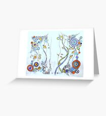 Under the sea Greeting Card
