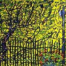 September. Nasturtiums & Lamp. by Alexey Yarygin