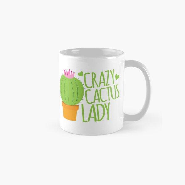 Crazy Cactus Lady Classic Mug