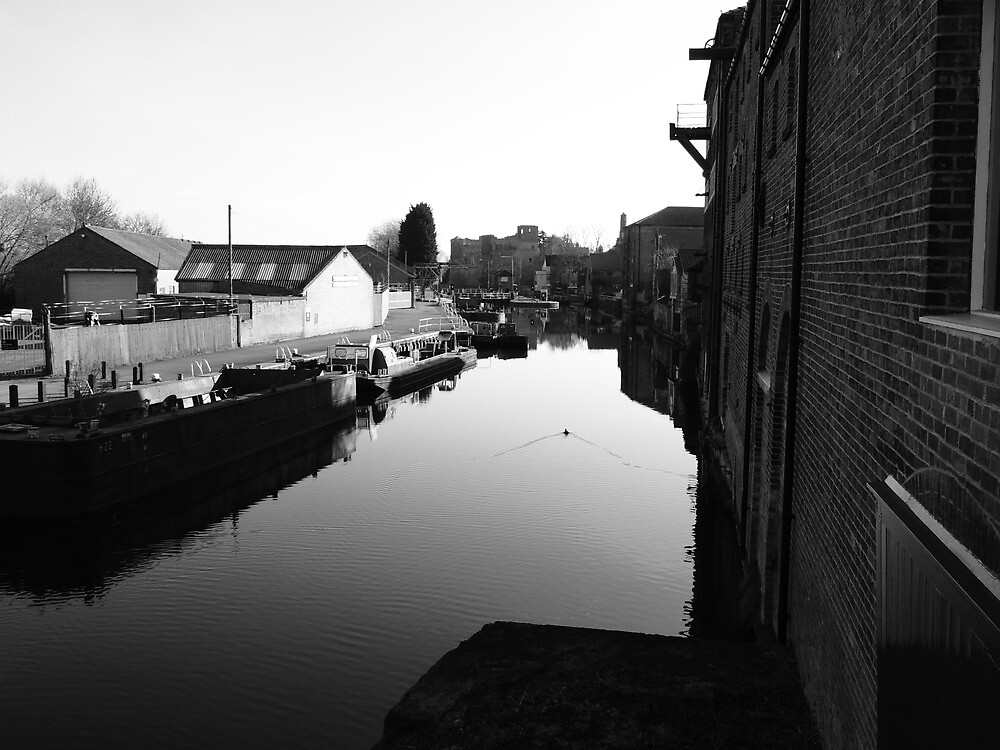 Downstream in Newark by Ian Lyall