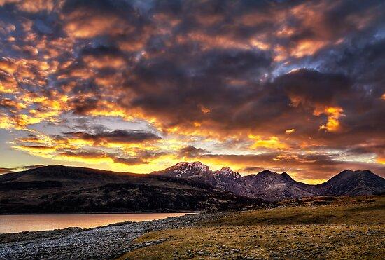 Fiery Skye by hebrideslight