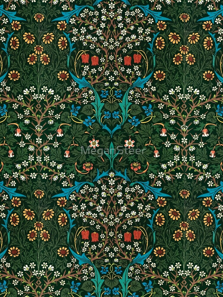Blackthorn by William Morris, 1892 by MeganSteer