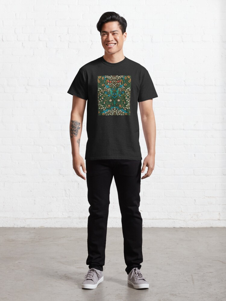 Alternate view of Blackthorn by William Morris, 1892 Classic T-Shirt