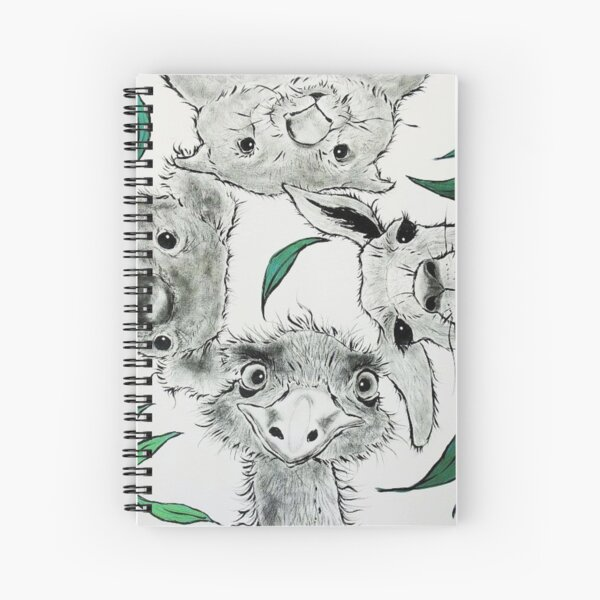 Native Curiosity Spiral Notebook