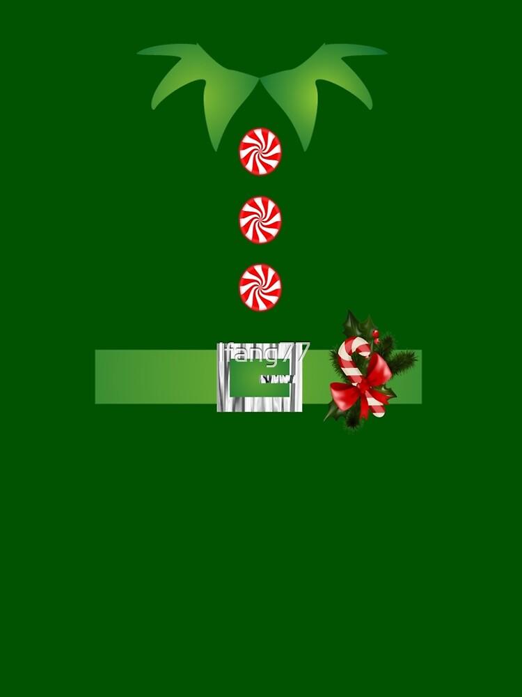 green elf Merry Christmas Santa's helper elf costume  by lfang77