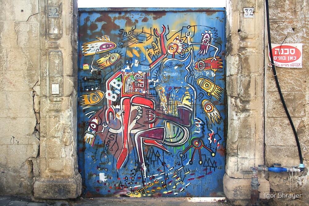 Tel Aviv Doors 3 by Igor Shrayer
