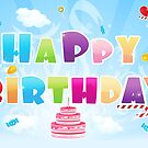 Happy Birthday II by SandraWidner