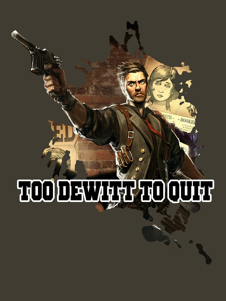 TOO DEWITT TO QUIT | Unisex T-Shirt