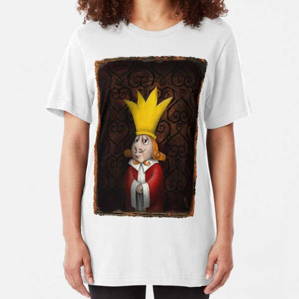 the King and i - king of hearts - alice in wonderland Slim Fit T-Shirt