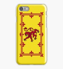 Smartphone Case - Flag of Scotland (royal standard) - Vertical  iPhone Case/Skin