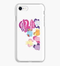 MLP Bean Ponies iPhone Case/Skin