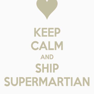 Keep Calm and Ship SuperMartian Tee by asterousninja