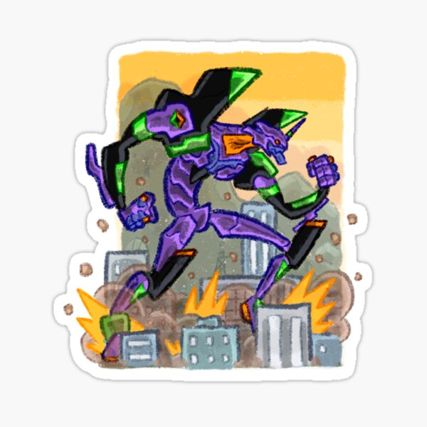 Eva Sticker 1 Sticker