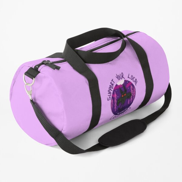 Support Your Local Cryptids- Mothman Duffle Bag