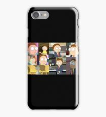 Funny Butt Lips iPhone Case/Skin