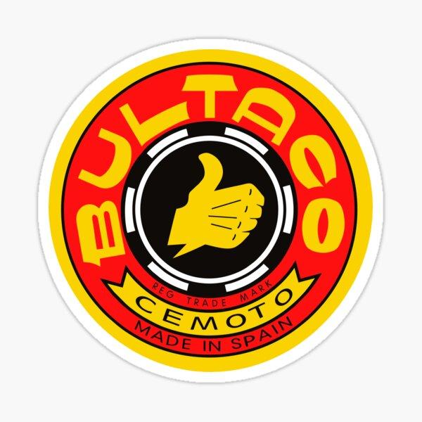 BEST SELLER - Bultaco Motorcycles Logo Merchandise Pegatina