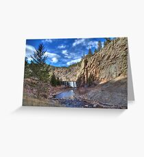 Button Rock Preserve, Lyons, CO Greeting Card