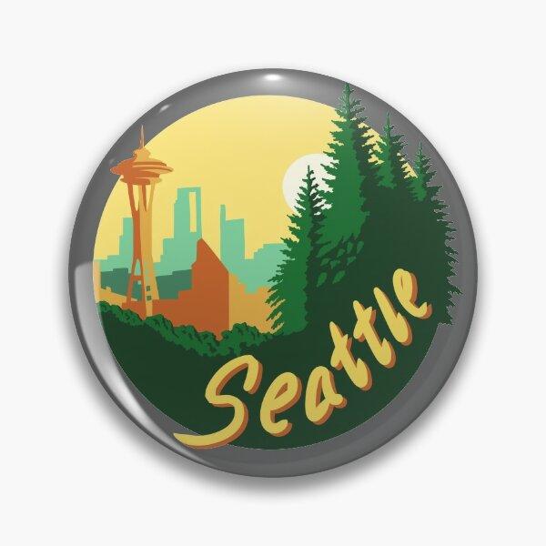Seattle Overlook Pin