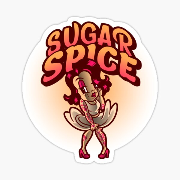 Sugar Spice Sticker