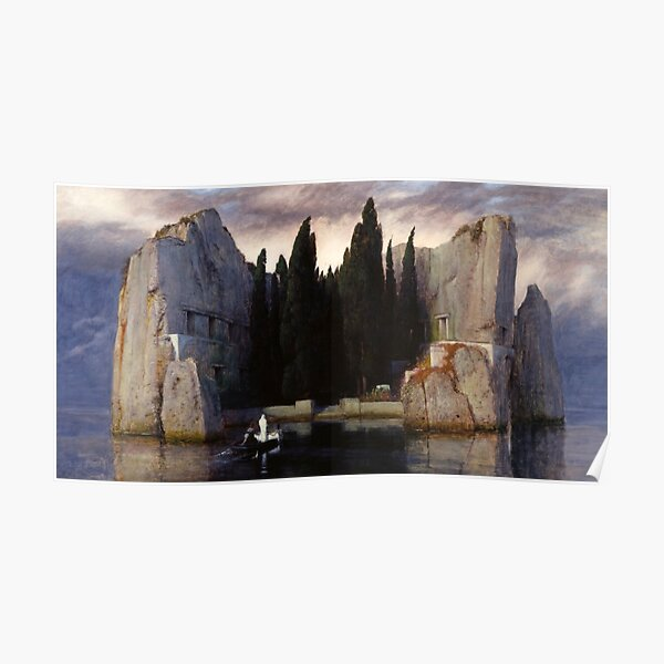 The Isle of the Dead - Arnold Bocklin - 1883 Poster