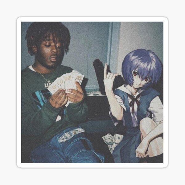 Rei Ayanami Thug Sticker